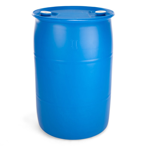 55 Gallon Blue Barrel