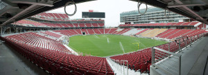 Watering the grass @ Levi's Stadium