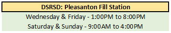 dsrsd-pleasanton-hours
