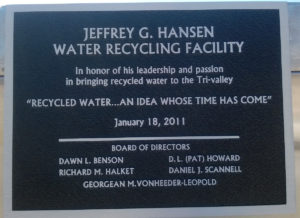 Plaque at DSRSD.