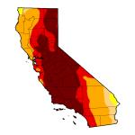 Drought Map - April 14, 2015
