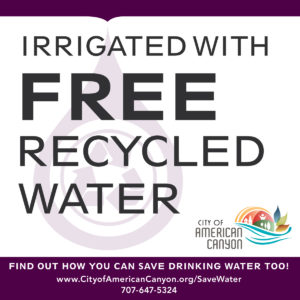 City of American Canyon gives away Recycled Water too!