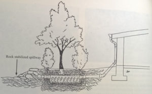Eventual design from a Rainwater Harvesting book.